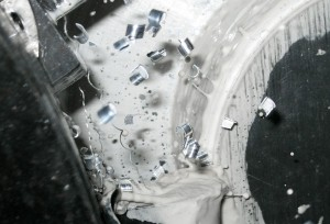 con lubrorefrigerante in emulsione acquosa, parametri macchina per favorire la rottura del truciolo