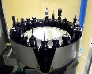 magazzino utensili fresa CNC