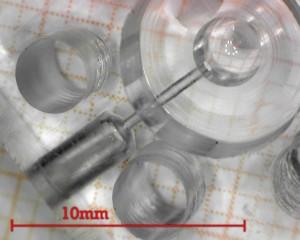 cella per microfluidica